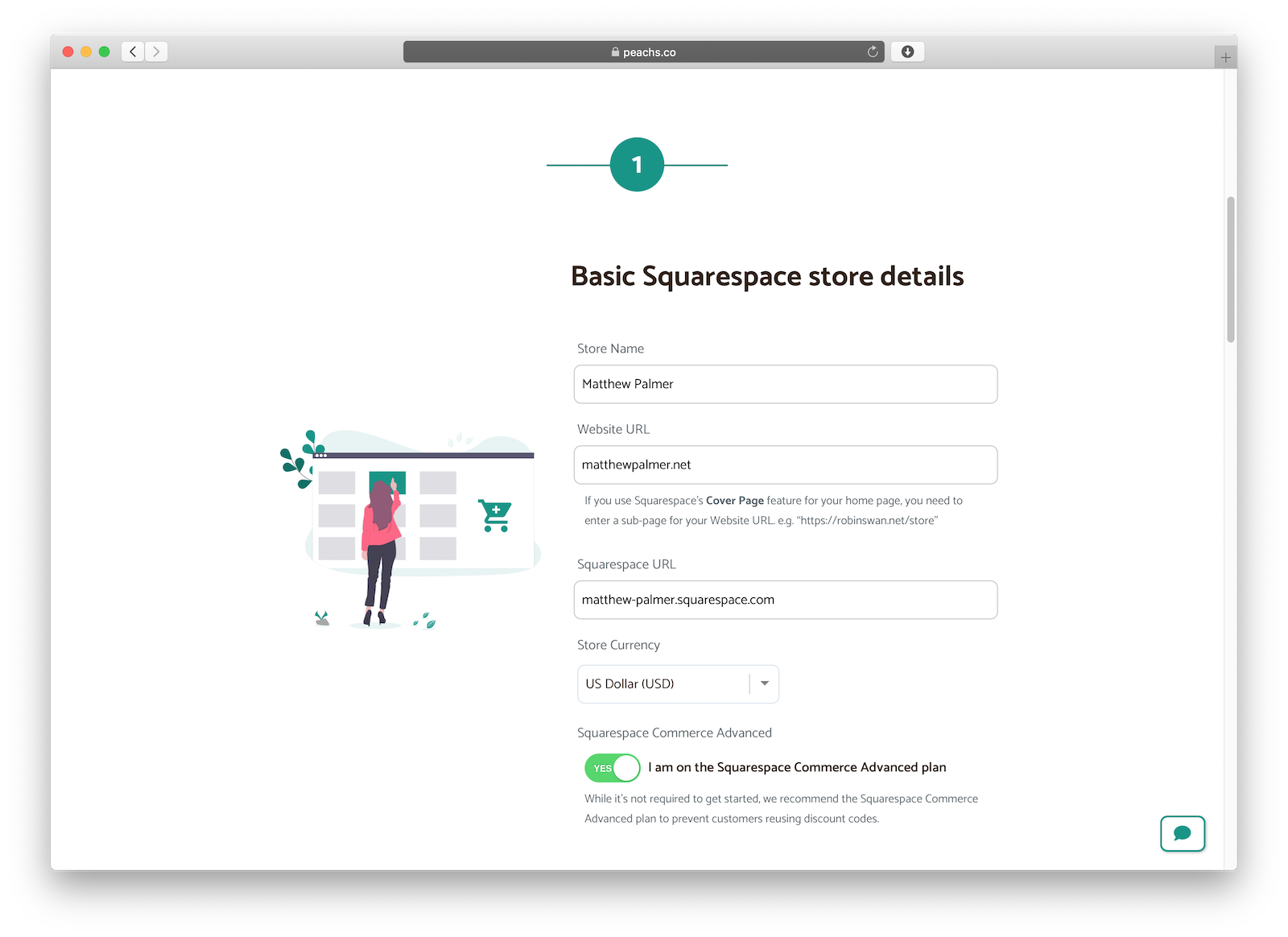 Squarespace referrals