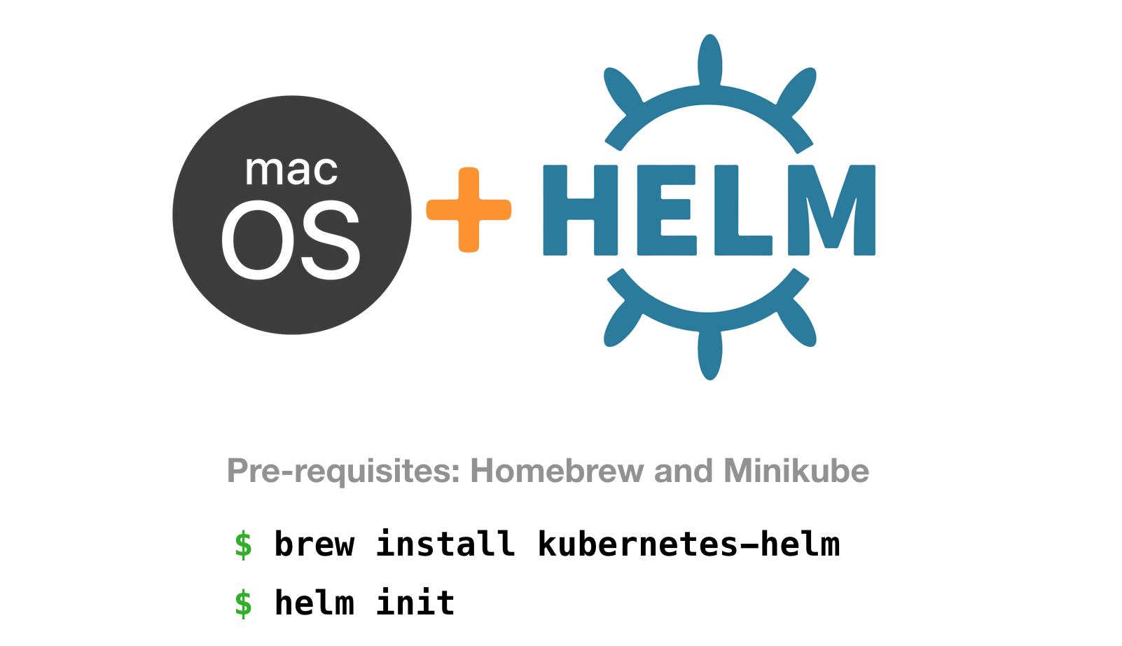How to Install Helm on Mac - Kubernetes Book